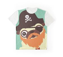 Pug in a crew Graphic T-Shirt