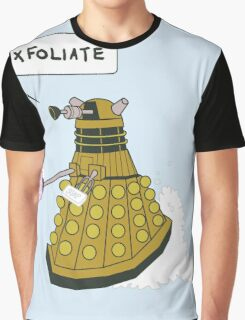 EXFOLIATE Dalek Graphic T-Shirt