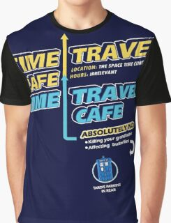 Time Travel Cafe Graphic T-Shirt