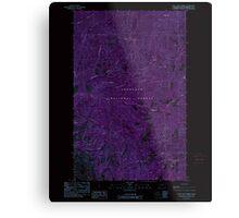 USGS Topo Map Washington State WA Loup Loup Summit 242080 1989 24000 Inverted Metal Print