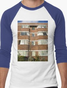 London Deco: Oman Court 1 Men's Baseball ¾ T-Shirt