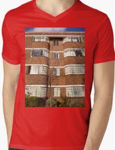 London Deco: Oman Court 1 Mens V-Neck T-Shirt