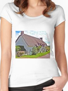 Country Cottage Women's Fitted Scoop T-Shirt