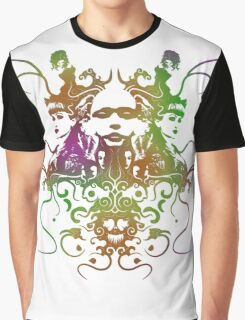 Rorschach Abstract Psychedelic #1 Graphic T-Shirt