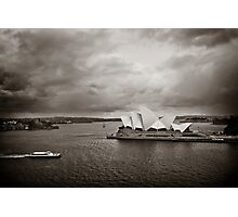Sydney Opera House in B&W Photographic Print