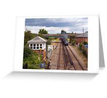 The Dorset Coast Express Greeting Card