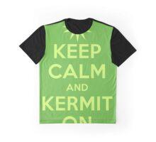 Keep Calm Kermit Graphic T-Shirt
