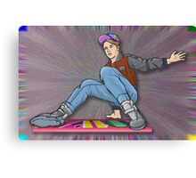 Marty McFly Back to the Future 2 Canvas Print
