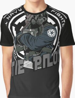 TIE Pilot Crest Graphic T-Shirt