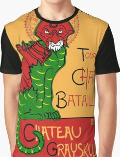 Chat Bataille Graphic T-Shirt