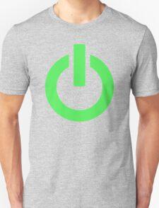 Power Button (green) T-Shirt