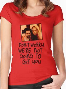Terry and Anne - The League of Gentlemen Women's Fitted Scoop T-Shirt