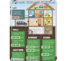 Save Energy Infographic iPad Case/Skin