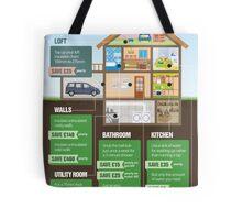 Save Energy Infographic Tote Bag