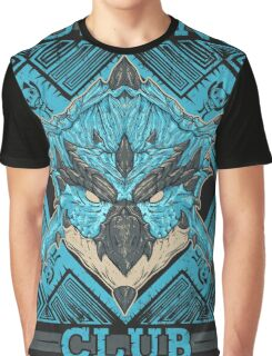 Hunting Club: Azure Rathalos Graphic T-Shirt