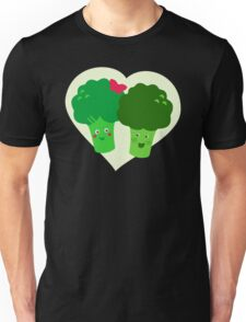 Broccoli in Love Unisex T-Shirt