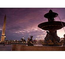 Concorde Plaza Photographic Print