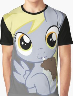 Milkshake Derpy Graphic T-Shirt