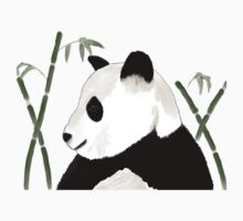 Watercolor Giant Panda Kids Clothes