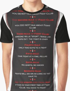 Fight Club - Welcome to Fight Club Graphic T-Shirt