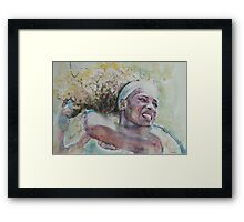 Serena Williams -2 Framed Print