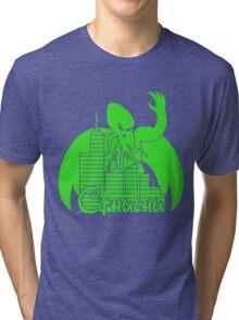 Cthulhu Logo Tri-blend T-Shirt