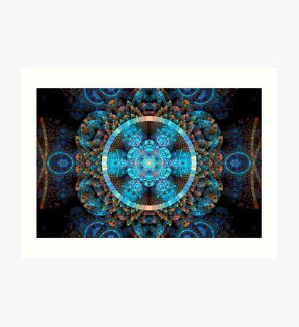 SCC - Lace Doily Art Print