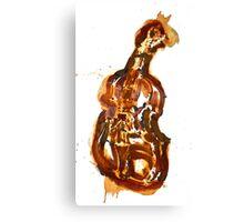 Violin/rust painting Canvas Print