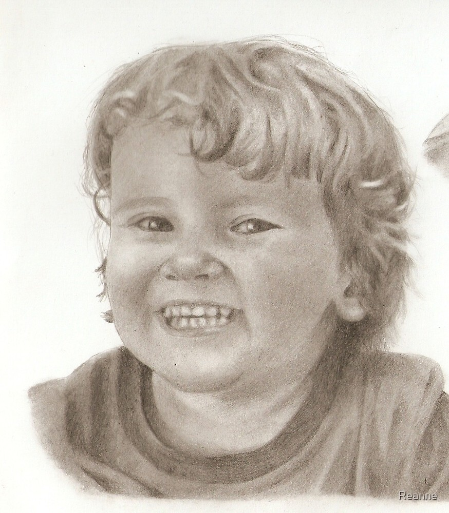Alex (part of a larger drawing) by Reanne