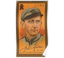 Benjamin K Edwards Collection John Pfiester Chicago Cubs baseball card portrait Poster