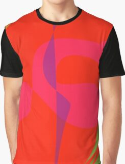 Purple Lightning Graphic T-Shirt