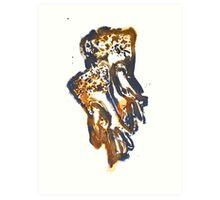 Lace gloves Art Print