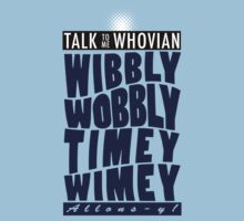 Talk Whovian to Me (Version 2) by trekvix