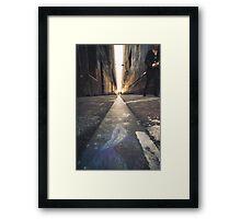 Melbourne Laneway Framed Print