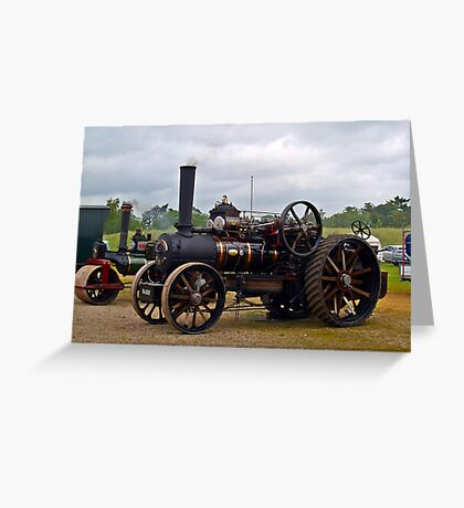 Traction Engines Greeting Card