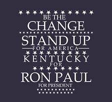 """""""Be the Change- Stand Up"""" Kentucky for Ron Paul T-Shirt"""