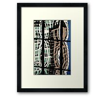 Denver reflection 15 Framed Print