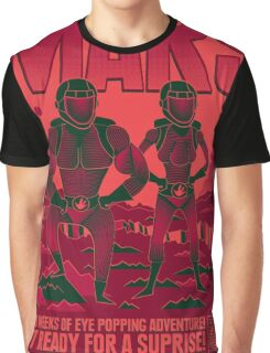 Visit Mars Graphic T-Shirt