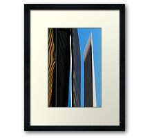 Denver reflection 19 Framed Print