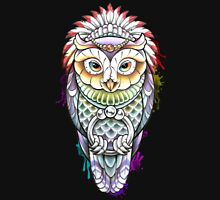 Watercolour Owl Design Unisex T-Shirt