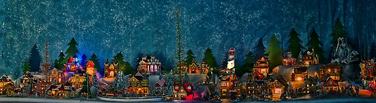 Christmas Village  by LudaNayvelt
