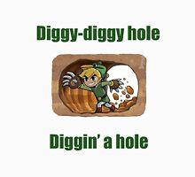 Diggy-diggy hole (LINK) Unisex T-Shirt