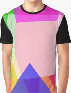 Minimalism Contrast Graphic T-Shirt