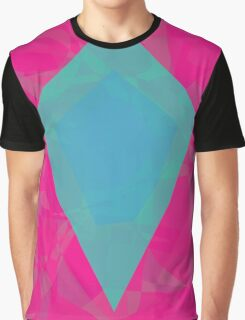 Green Diamond Graphic T-Shirt