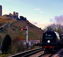Manston at Corfe Castle by Mike Streeter