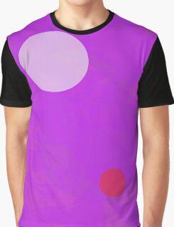 Minimalism Electric Purple Graphic T-Shirt