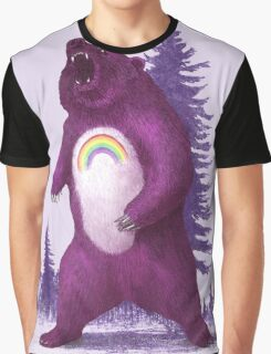 Scare Bear  Graphic T-Shirt