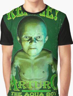 Arturo the Aqua Boy Graphic T-Shirt