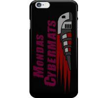 Mondas Cybermats iPhone Case/Skin