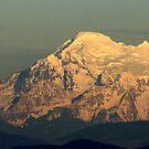 """""""Mount Baker Sunset"""" by Lynn Bawden"""